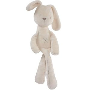 New Silky Rabbit Obediently Sleep Appease Doll Soft Lovely Plush Toys Kids Gift