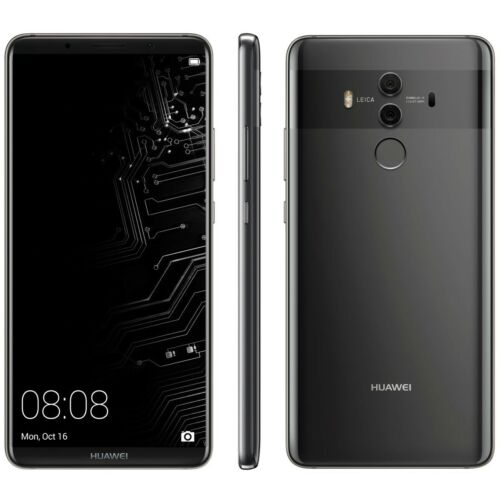 Huawei Mate 10 Pro 4G LTE with 128GB Memory Cell Phone (Unlocked) Titanium Gray BLA-A09