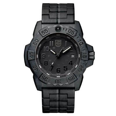 Carbon Fiber Navy Seal Dive (Luminox 3502.BO Men's Navy Seal 3500 Swiss Black Bracelet Dive)