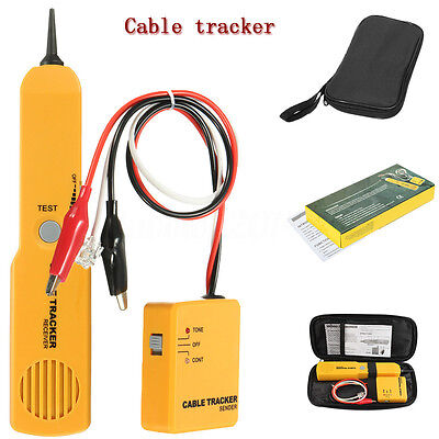 Telephone Line Network Finder Detector Tracker Cable Tester Rj-1145 Wire Tracer