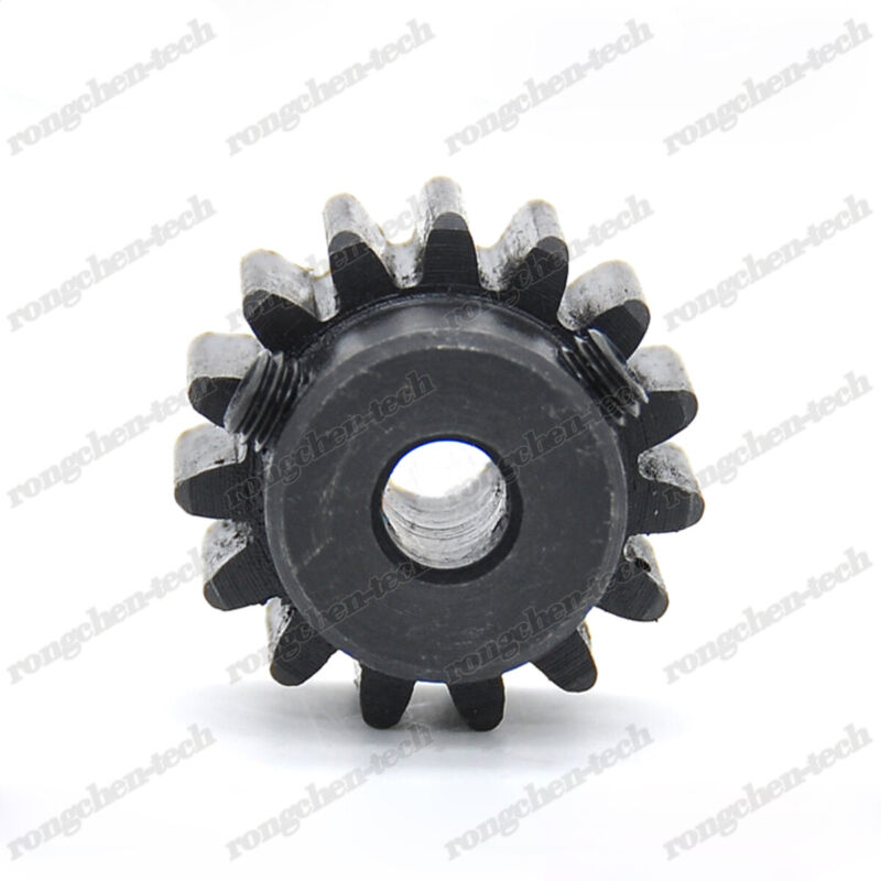 45# Steel Spur Pinion Gear 1.5Mod 20T Outer Dia 33mm Bore 6//6.35//8//10//12//15mm