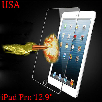 "TEMPERED GORILLA GLASS SCREEN PROTECTOR For Apple iPad Pro 12.9"" USA"