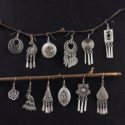 Vintage Bohemia Women Gypsy Ethnic Style Hooks Women Earrings Costume Jewellery (Woman Gypsy Costume)