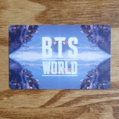 BTS World Title Official Story Card Photocard Limited Edition Album Kpop