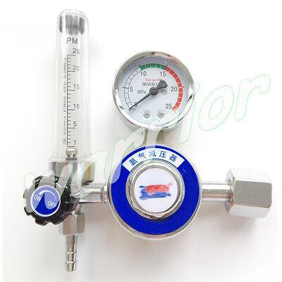 Ar Gas Flowmeter Pressure Argon Regulator Reducer For Tig Welding Gas Tank G58