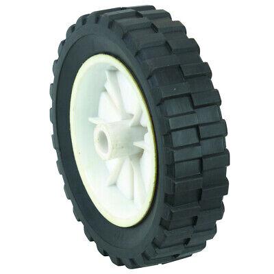 7 Inch Semi Solid Hard Rubber Flat Free Replacement Tire Wheel Rim Mower Cart