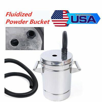 Mini Stainless Steel Fluidized Powder Hopper 8l F. Powder Coating Machine Us Hot