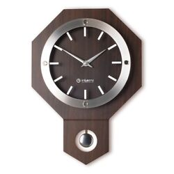 Antique Vintage Wooden Wall Clock Retro Style Modern Pendulum Clock - MW162W