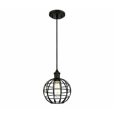Lámpara de Araña Jaula de Metal Industrial Retro E27 Colgante Vintage TY004