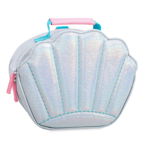 NWT Disney Store Ariel Lunch Tote Box Bag School Princess Little Mermaid shell