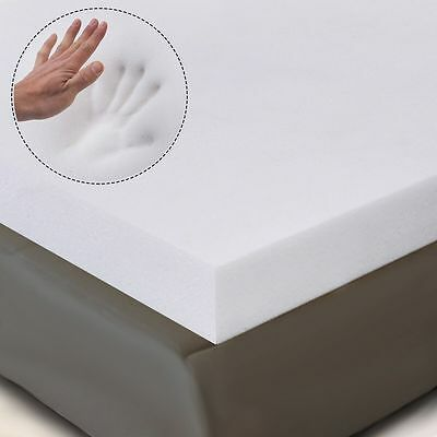 "3"" QUEEN SIZE MEMORY FOAM MATTRESS PAD, BED TOPPER 80""x60""x3"""