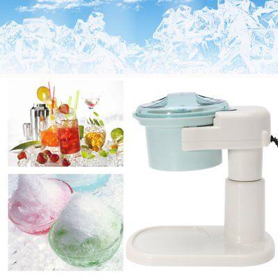 Electric Ice Shaver Machine Snow Cone Maker Auto Slushy Shaving Crusher 220v C