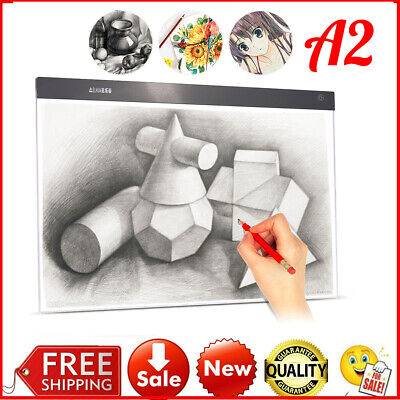 A2 Large Ultra-thin LED Light Pad Box USB Painting Tracing Board Panel Copyboard
