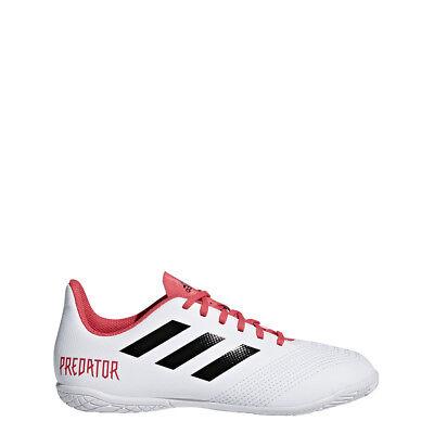 Adidas Predator Tango 18.4 IN J Youth Indoor Junior White Soccer Shoes CP9103 (Adidas Junior Indoor Soccer Shoes)