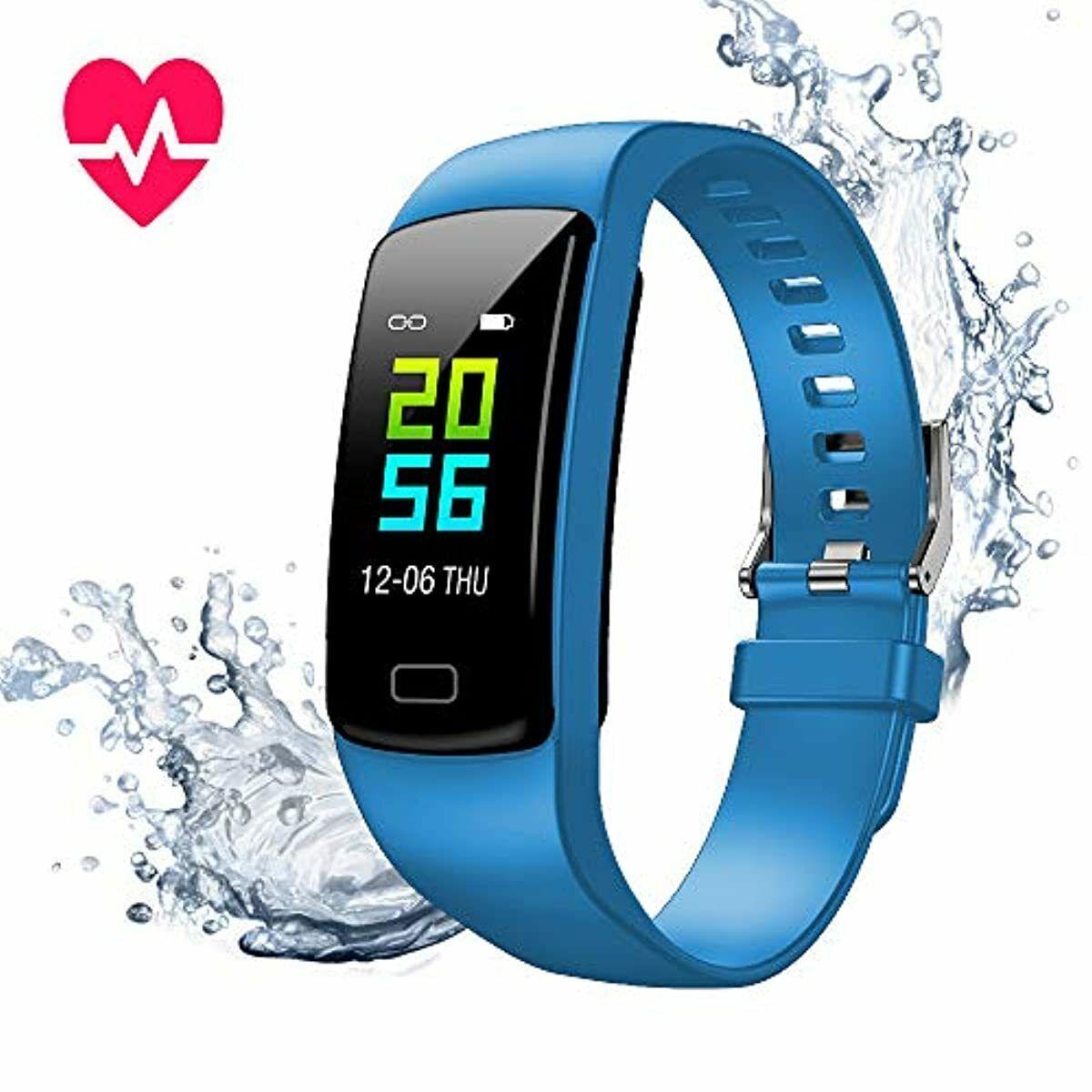 Orologio Fitness Tracker, Smartwatch Pressione Sanguigna..
