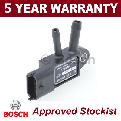 Bosch DPF Exhaust Pressure Sensor Diesel Particulate Filter MAP 0281006287