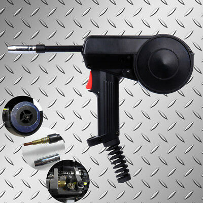 160a Mig Spool Gun Mig Gun Head Speed Adjust 24v Dc Wire Feed Aluminum Welder