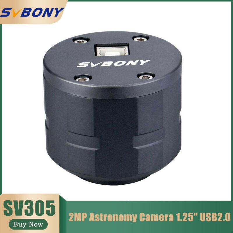 "SVBONY SV305 1.25""Astronomy Camera Electronic Eyepiece USB2.0 2MP for Telescopes"