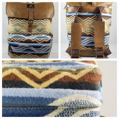 UGG Australia Kolman Pendleton Wool Chestnut Leather Trimmed Backpack MSRP: - Ugg Backpack
