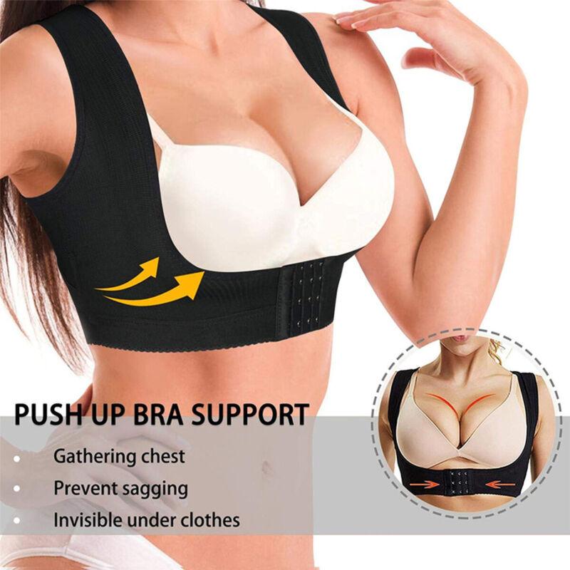 Women Adjustable Shoulder Back Posture Corrector Chest Brace