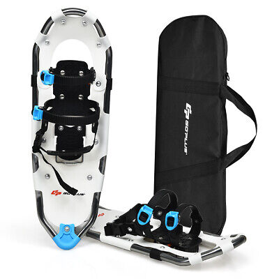 "25"" All Terrain Snow Shoes Lightweight Aluminum w/ Adjustable Ratchet Bindings"
