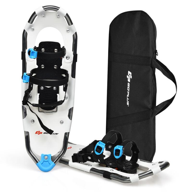 "25"" All Terrain Snow Shoes Lightweight Aluminum w/ Adjustable Ratchet Bindings"