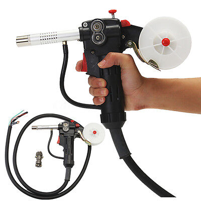 6ft Mig Welding Spool Gun Push Pull Feeder Aluminum Welding Torch 2m Wire Cable