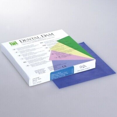 Coltene Whaledent Dental Rubber Dam Sheets Latex Extra Strength Size 6x 6