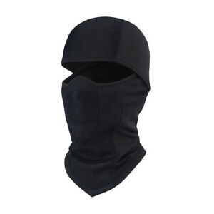 Thermal Fleece Neck Warmer Full Face Mask Ski Hunting Snowboard Balaclava Black