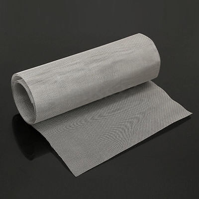 Roll 25 Mesh Stainless Steel 316 Cloth Screen Filter Sheet 120x30cm47.2x11.8