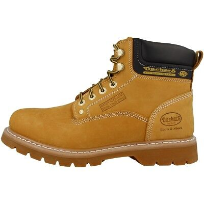 detailed pictures 70599 b3f5d Мужские ботинки Dockers by Gerli 23DA004 Schuhe Herren Boots Stiefel golden  tan 23DA004-300910