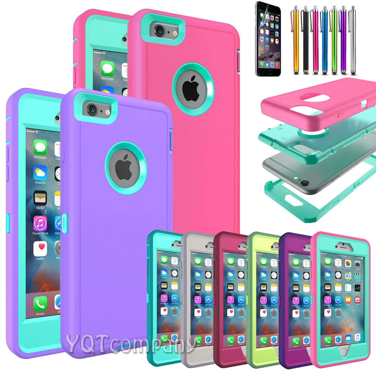 Hard Back ShockProof Slim Hybrid Phone Case Cover iPhone 5s