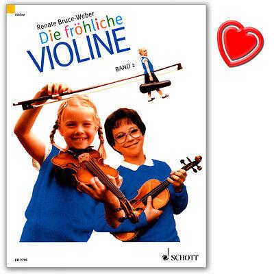 Die fröhliche Violine - Band 2 - Geigenschule - Schott - ED7786 - 9783795754624
