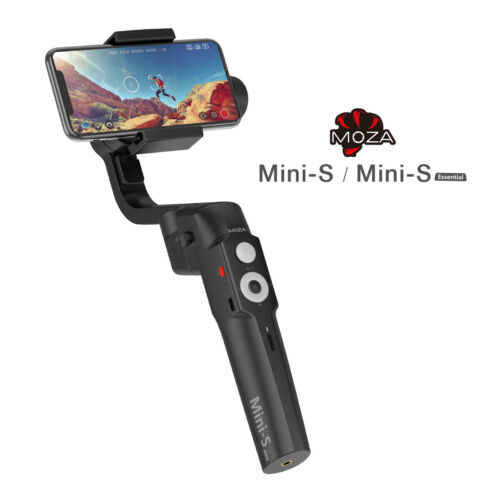 MOZA Mini-S Essential Foldable Phone Gimbal For Smartphone iPhone Samsung Huawei