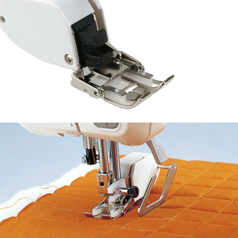 Sewing Machine Even Feed Walking Foot&Quilt Guide for Brother/Singer/Janome