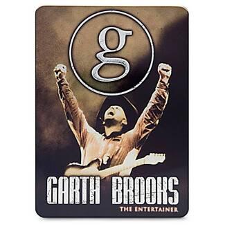 GARTH BROOKS - THE ENTERTAINER  5 DVD BOX SET IN METAL CASE # NEW