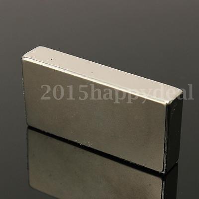 1pc N52 Industry Strong Rare Earth Magnets NdFeB Neodymium Block 50 x 25 x 10mm