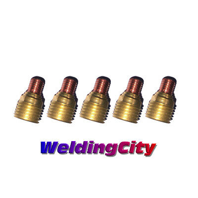 5-pk Tig Welding Gas Lens Collet Body 45v43 116 Torch 920 Us Seller Fast Ship