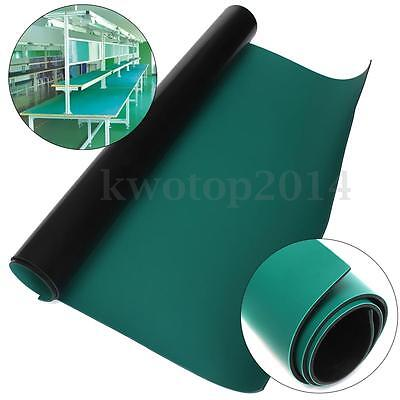 Green Desktop Anti Static Esd 500x600mm Grounding Mat For Phone Pc Tablet Repair