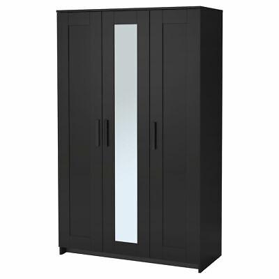 Ikea Brimnes Armario Con 3 Puertas Negro