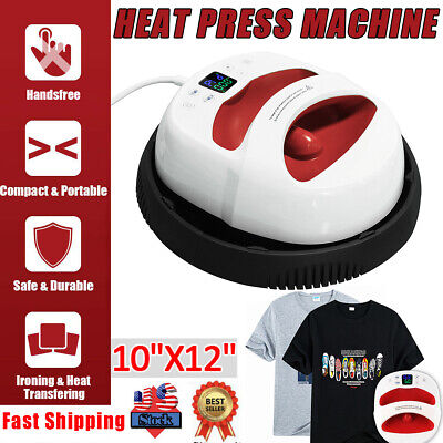 1210 T-shirt Heat Press Iron-on Machine Digital Sublimation Transfer Printer