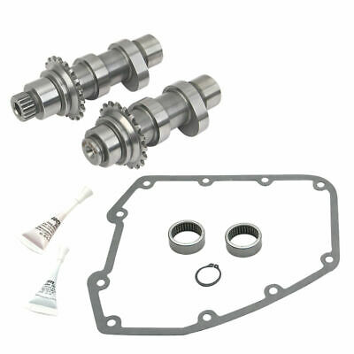 S&S Cycle 585C 585 C Chain Drive Cams Camshaft Install Kit Harley Twin Cam 07-17