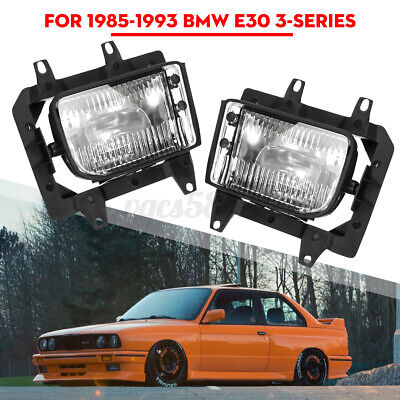 2x Front Bumper Driving Fog Light for BMW E30 318i 318is 325i 85-93 Clear