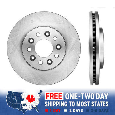 2 Front Premium Brake Disc Rotors For 2004 2005 2006 2007 FORD FREESTAR MARINER