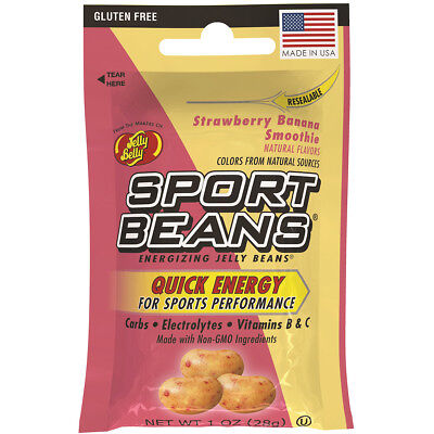 Jelly Belly Candy ~STRAWBERRY BANANA SMOOTHIE SPORT BEANS ~