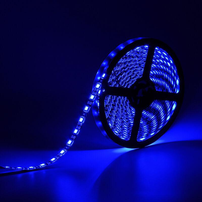 SUPERNIGHT® Blue 16.4ft 300Leds 5M 5050 SMD LED Strip Light
