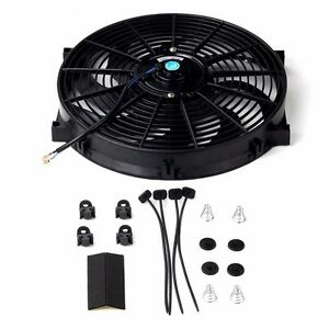 14 in electric fan wiring diagrams schematics 14 electric fan ebay 14 inch universal slim fan push pull electric radiator cooling 12v mount kit at electric fan wiring diagram asfbconference2016 Images