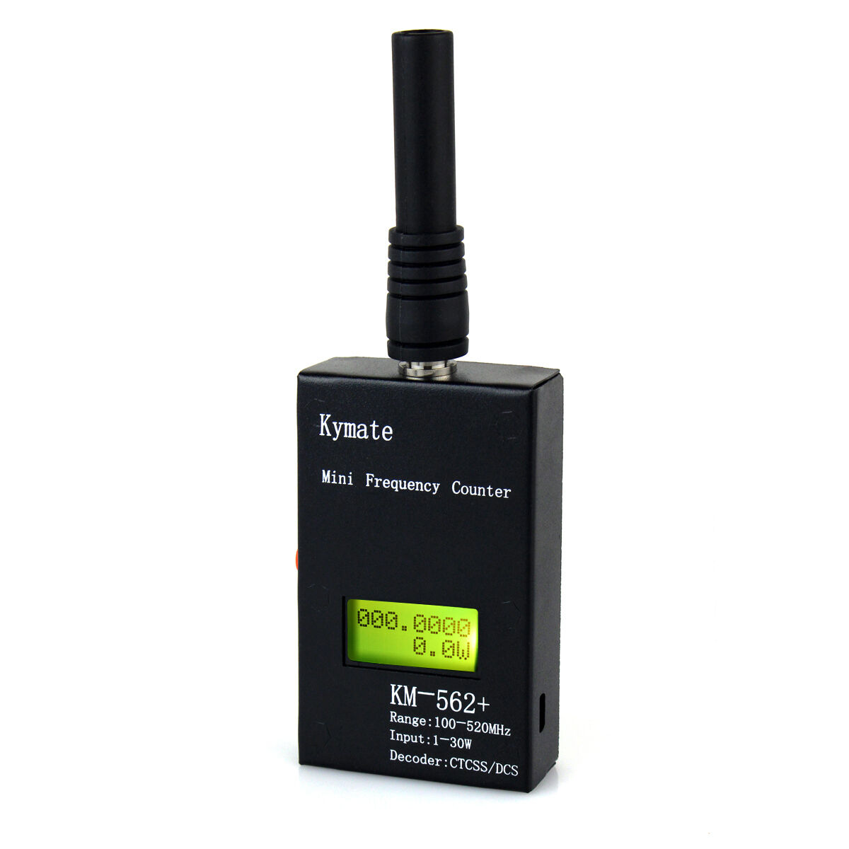 Frequency//Power Meter LCD Display CTCSS//DCS Decoder 100MHz~520MHz//1-30W/&Antenna