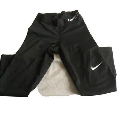 Nike Pro Dri-Fit 3/4 Length Leggings Size XS