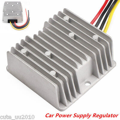 Dc Voltage Stabilizer Automatic Regulator 8-40v To 12v 6a72w Car Power Converter